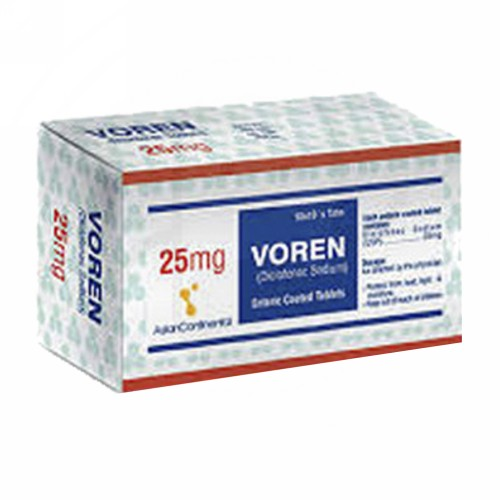 VOREN 25 MG TABLET STRIP