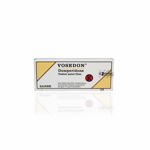 VOSEDON 10 MG BOX 100 TABLET