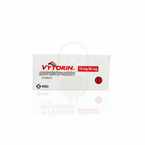VYTORIN 10/20 MG STRIP 10 TABLET