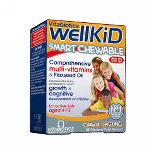 WELLKID CHEW BOX 30 TABLET