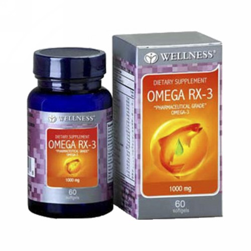 WELLNESS OMEGA RX-3 BOX 60 SOFTGEL