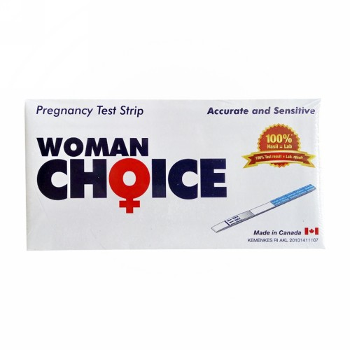 WOMAN CHOICE PREGNANCY TEST STRIP