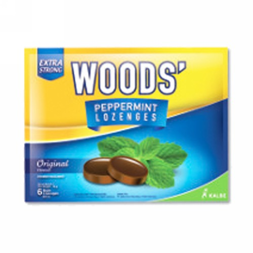WOODS TABLET HISAP PEPPERMINT SACHET ORIGINAL