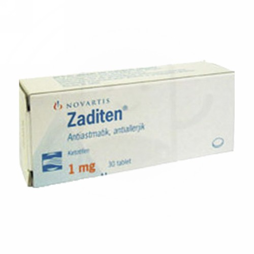 ZADITEN 1 MG BOX 60 TABLET