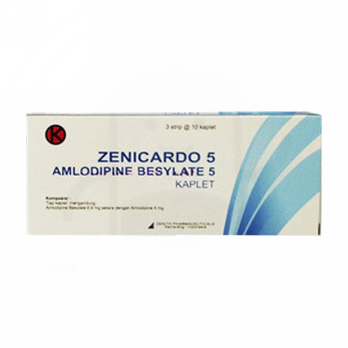 ZENICARDO 5 MG BOX 30 TABLET