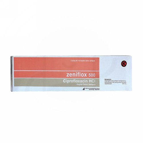 ZENIFLOX 500 MG STRIP 10 KAPLET