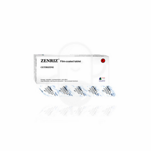 ZENRIZ 10 MG BOX 30 TABLET