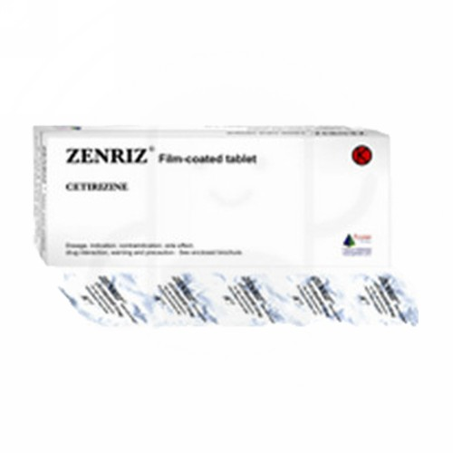 ZENRIZ 10 MG TABLET