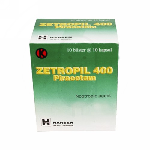 ZETROPIL 400 MG STRIP 10 KAPSUL