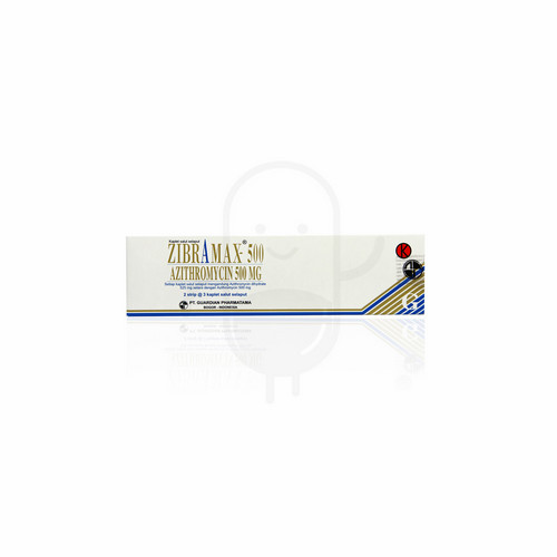 ZIBRAMAX 500 MG BOX 6 KAPLET