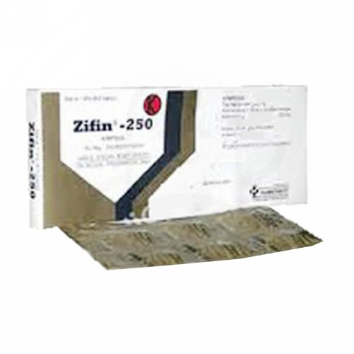 ZIFIN 250 MG BOX 6 KAPSUL