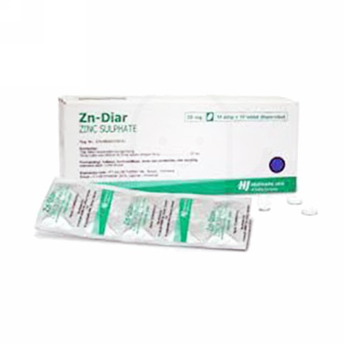ZNDIAR 20 MG BOX 100 TABLET