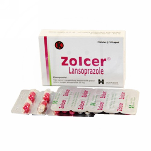 ZOLCER 30 MG BOX 20 KAPSUL