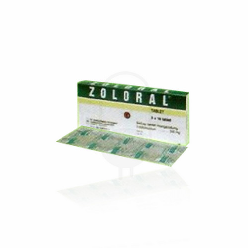 ZOLORAL 200 MG TABLET BOX