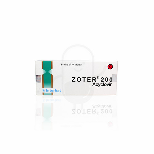 ZOTER 200 MG BOX 30 TABLET