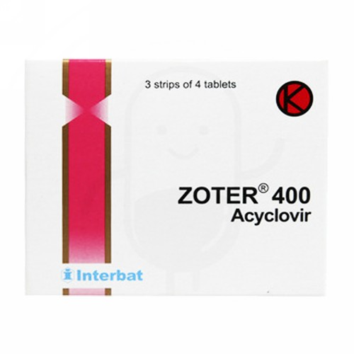 ZOTER 400 MG STRIP 4 TABLET