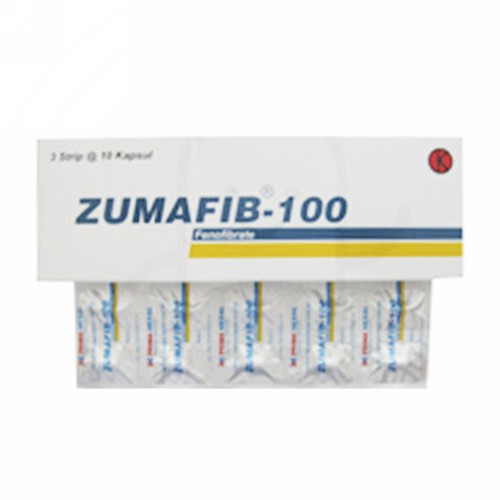 ZUMAFIB 100 MG BOX 30 KAPSUL
