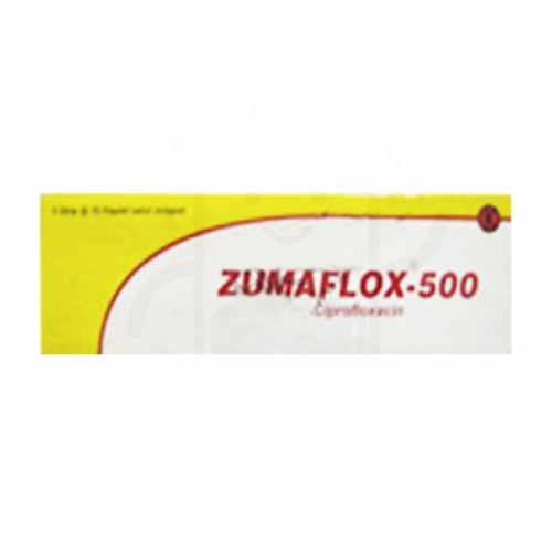 ZUMAFLOX 500 MG KAPLET BOX