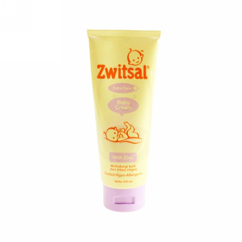 ZWITSAL BABY CREAM EXTRA CARE WITH ZINC 100 ML TUBE