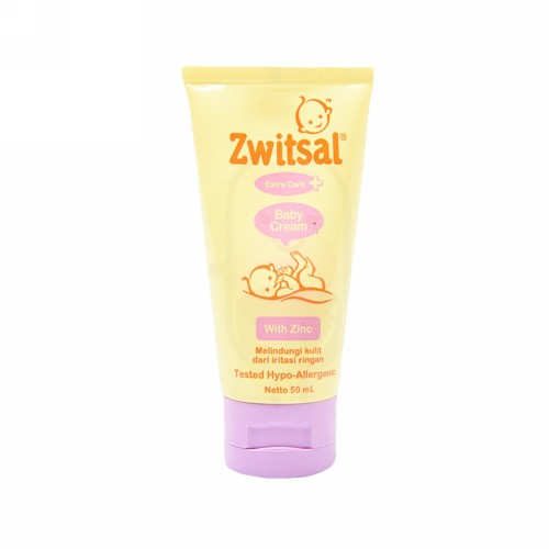ZWITSAL BABY CREAM WITH ZINC 50 ML TUBE