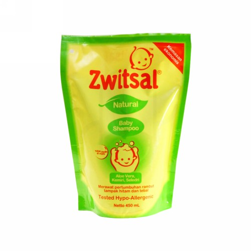 ZWITSAL NATURAL BABY SHAMPOO 450 ML