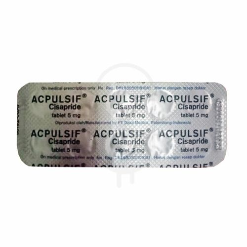 ACPULSIF 5 MG BLISTER 10 TABLET