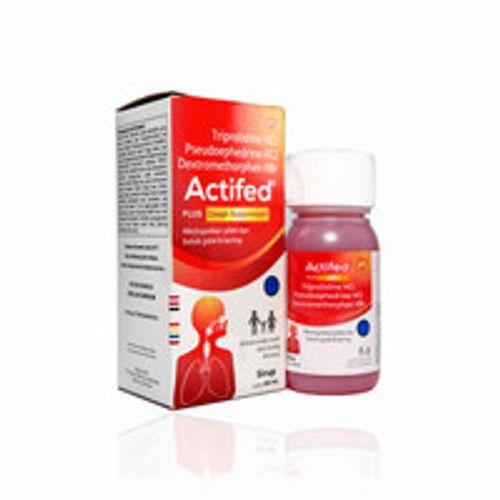 ACTIFED PLUS COUGH SUPRESSANT SIRUP 120 ML