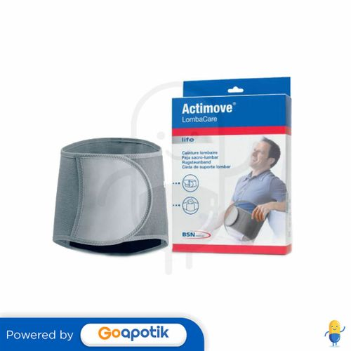 ACTIMOVE LOMBACARE GREY UKURAN XL