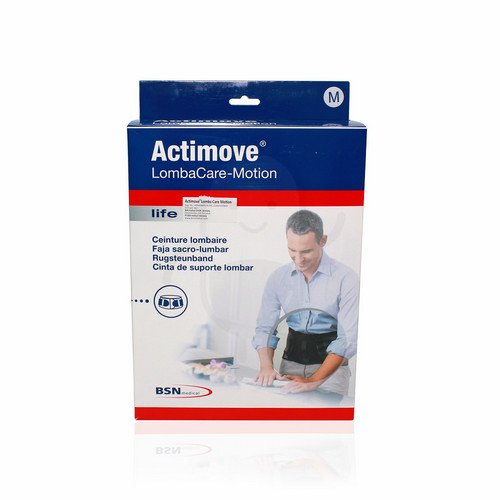 ACTIMOVE LOMBACARE-MOTION BLACK UKURAN M