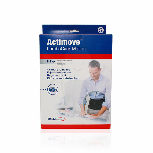 ACTIMOVE LOMBACARE-MOTION BLACK UKURAN S
