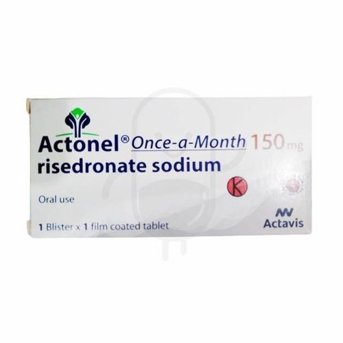 ACTONEL ONE-A-MONTH 150 MG BOX 1 TABLET