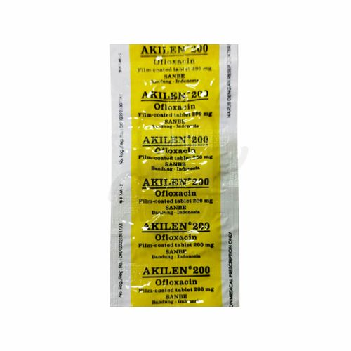 AKILEN 200 MG STRIP 10 TABLET