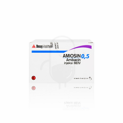 AMIOSIN 250 MG/ML INJEKSI 2 ML VIAL