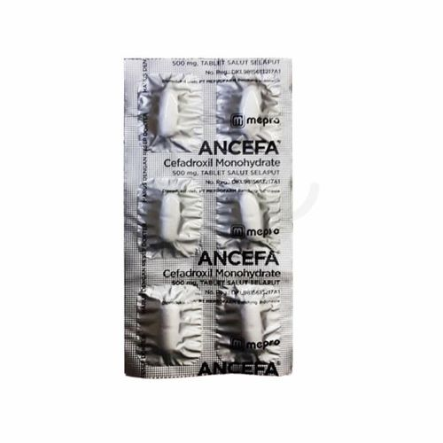 ANCEFA 500 MG TABLET