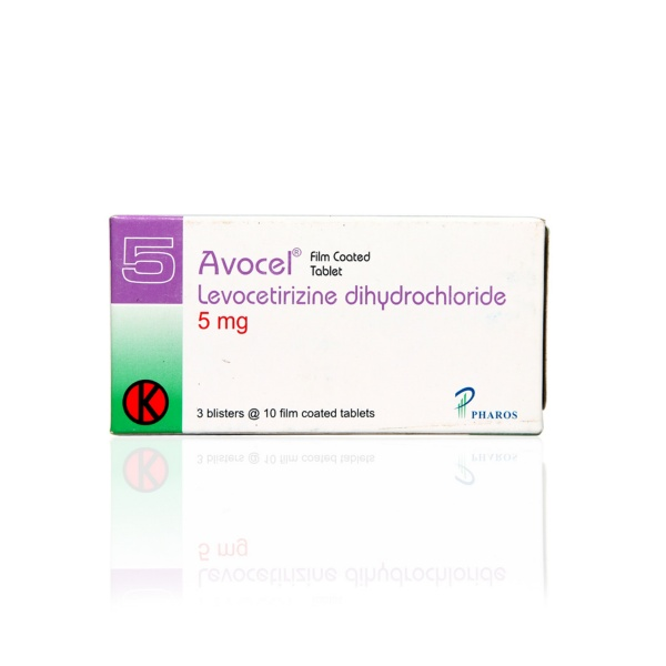 avocel-5-mg-tablet-box
