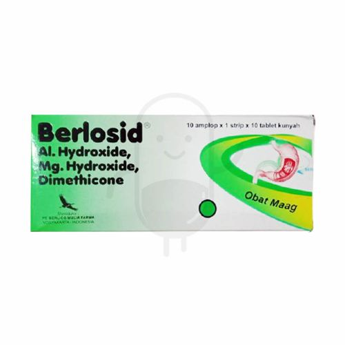 BERLOSID BOX 100 TABLET