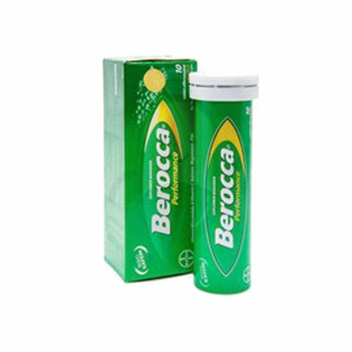 BEROCCA PERFORMANCE  TUBE 10 TABLET EFFERVESCENT