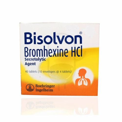 BISOLVON 8 MG BOX 40 TABLET