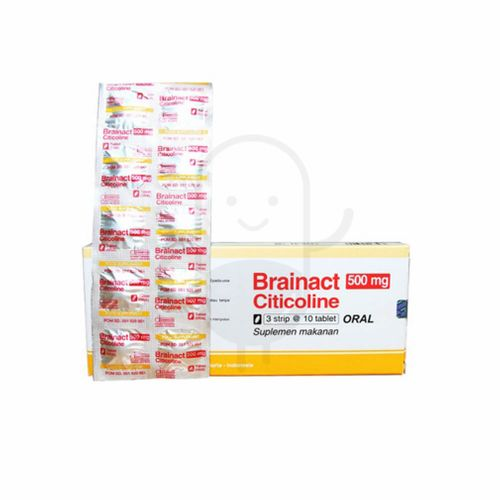 BRAINACT 500 MG BOX 30 TABLET