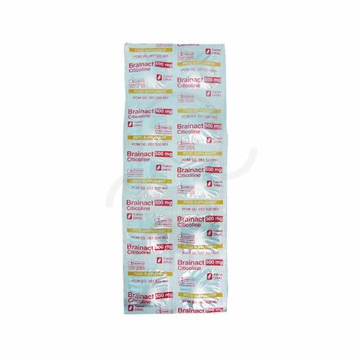 BRAINACT 500 MG STRIP 10 TABLET
