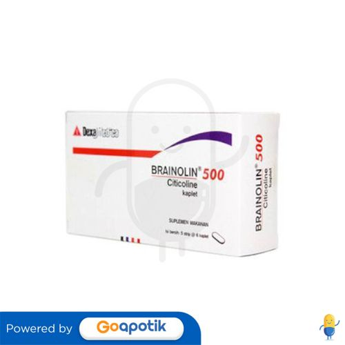 BRAINOLIN 500 MG BOX 30 KAPLET