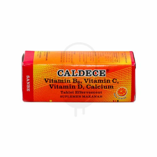 CALDECE ORANGE TUBE 10 TABLET EFFERVESCENT