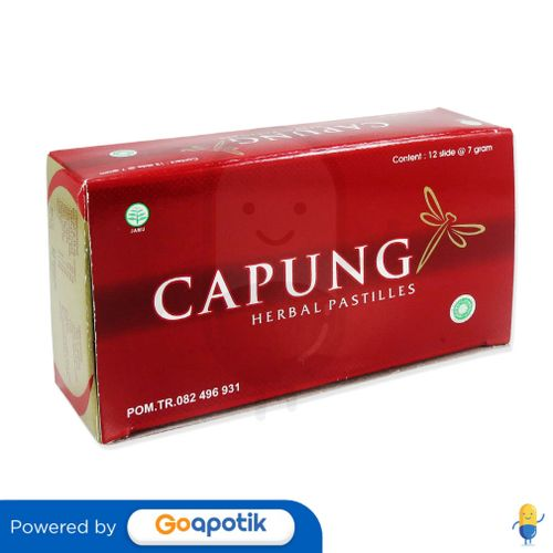 CAPUNG HERBAL PASTILLES BOX