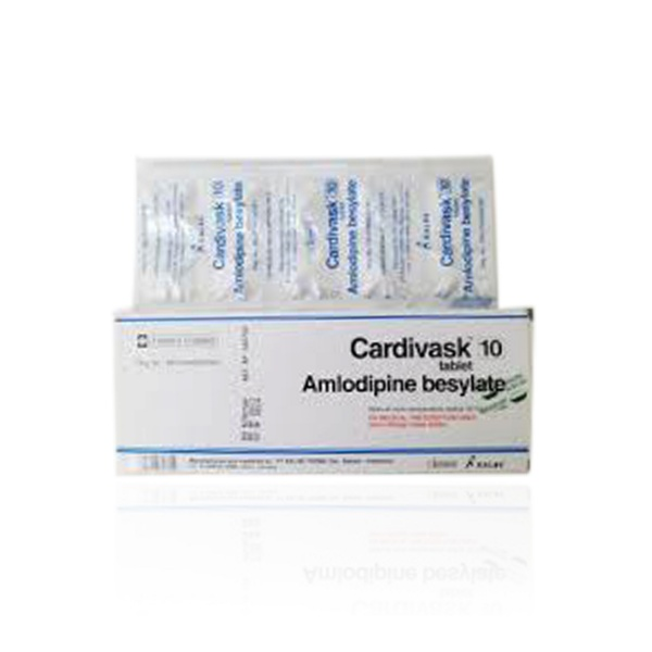cardivask-10-mg-tablet-box