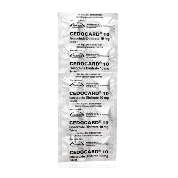 cedocard-10-mg-tablet-strip