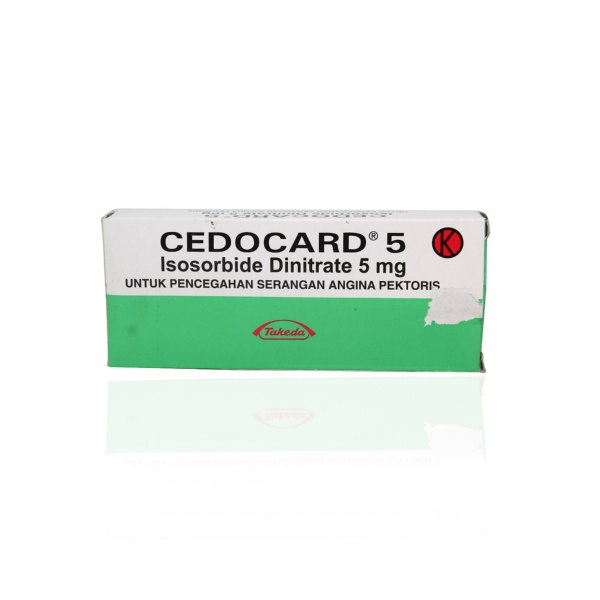 cedocard-5-mg-tablet-box