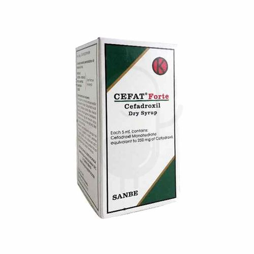 CEFAT FORTE DRY SYRUP 60 ML