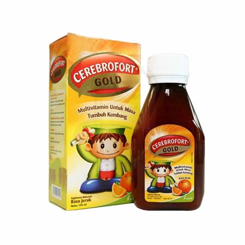 CEREBROFORT GOLD RASA JERUK SIRUP 100 ML