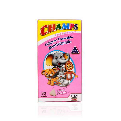 CHAMPS MULTIVITAMIN WITH TAURINE 30 TABLET