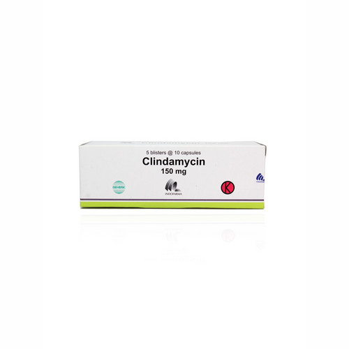 CLINDAMYCIN OGB DEXA MEDICA 150 MG STRIP 10 KAPSUL